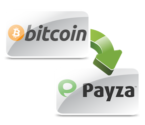Pay with Bitcoin - Payza